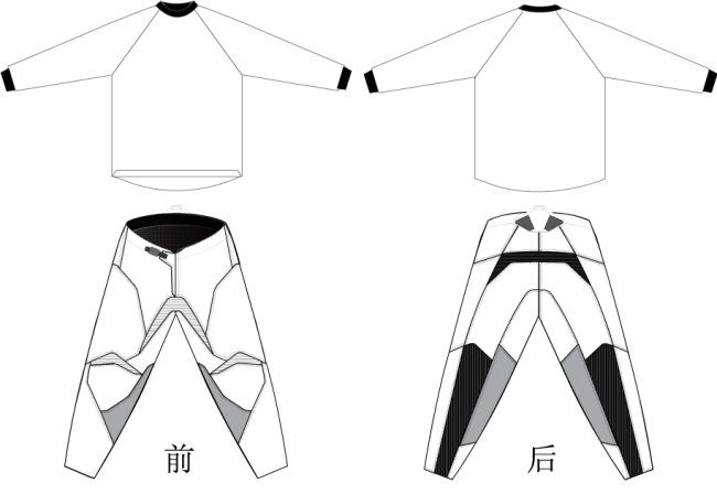 服装 简笔画 手绘 线稿 运动衣 650_448