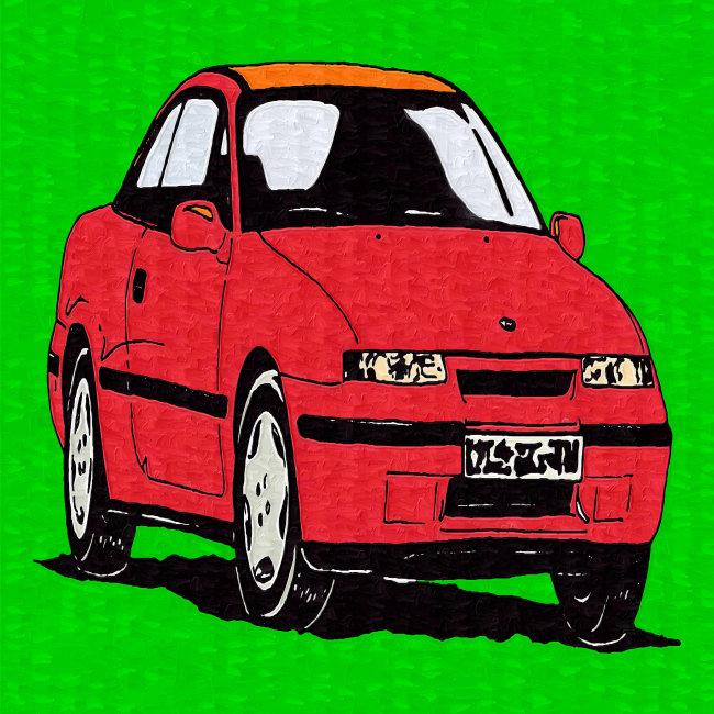 儿童画 趣味 可爱 生动 艺术 素材 儿童读物 绘本 手绘 轿车 汽车