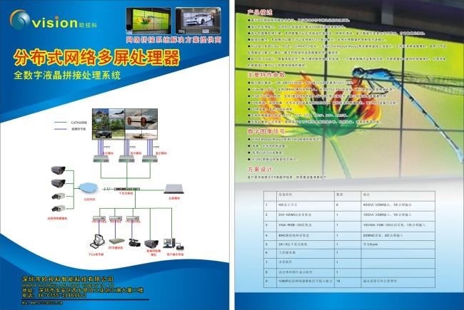 网络设备模板下载(图片编号:10438734)_彩页|dm单页