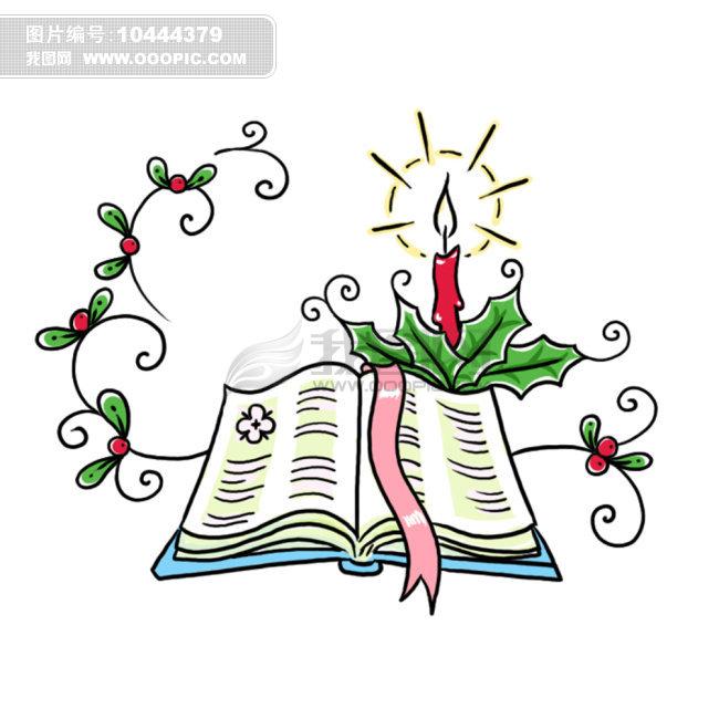 手绘 圣经 圣诞节图片
