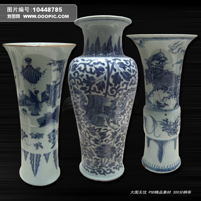 陶瓷卡通花瓶图片