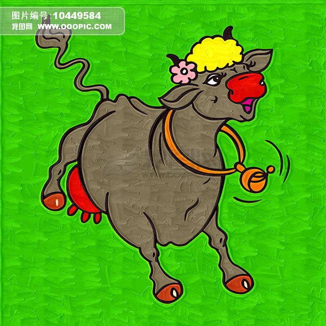 奔跑的动物卡通画