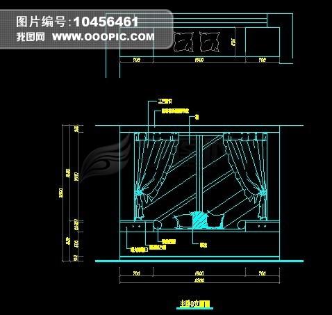 室内立面图 室内布置立面图 立面图 室内局面立面图 卧室立面