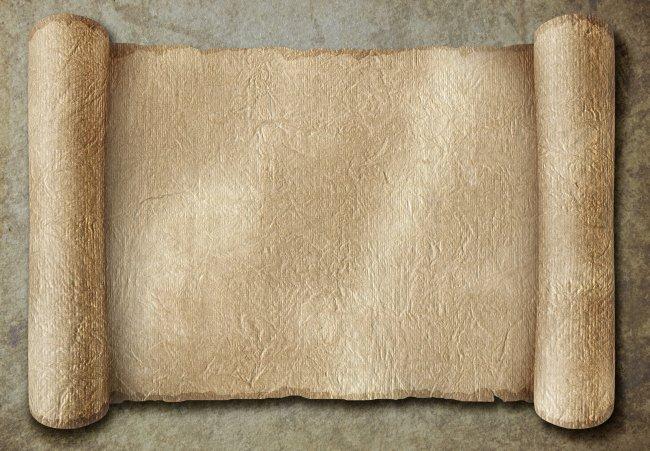复古卷轴模板下载 复古卷轴图片下载