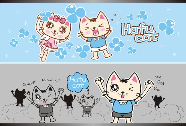 卡通猫形象
