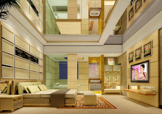 家居房间设计方案效果图模板下载(图片编号:10470652)