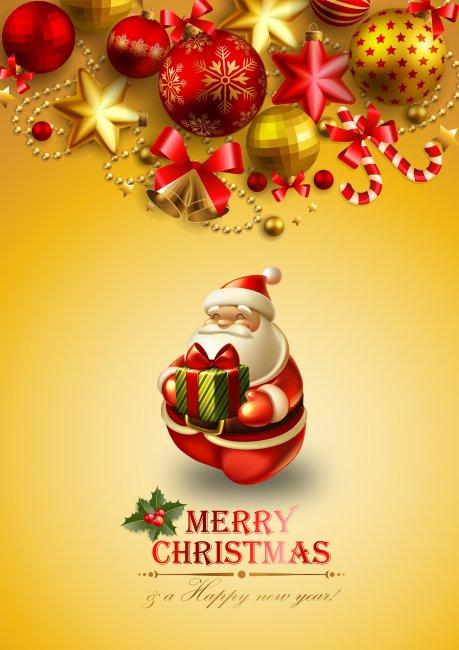 圣诞节海报设计素材模板下载 10479277 圣诞节 节日设计 马年素材