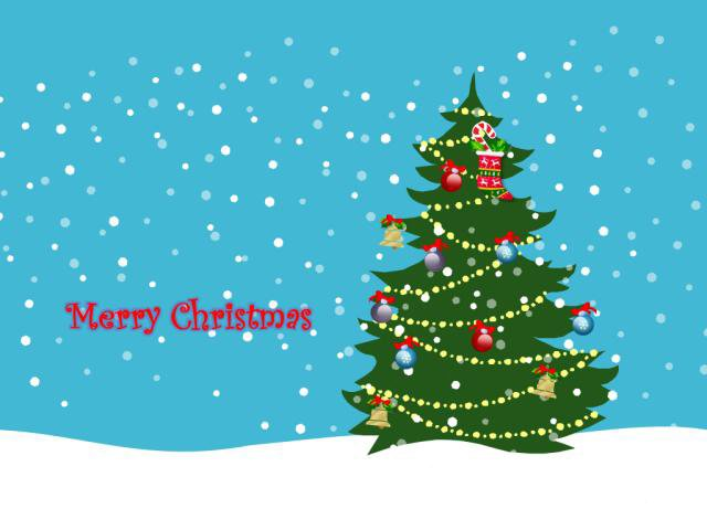 ppt动态圣诞节动画模板
