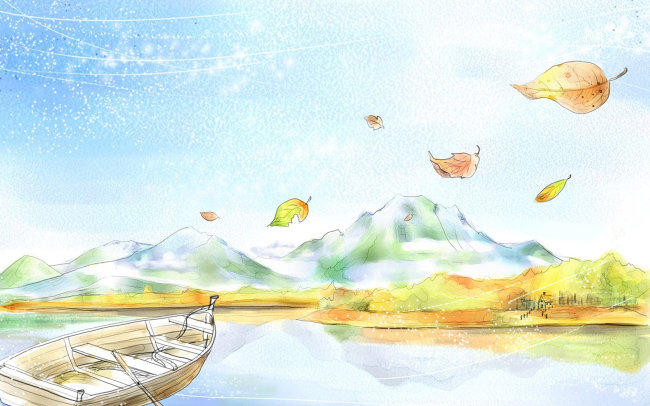意境 朦胧 环境 水墨画 写生      无框画 手绘 马克笔画 园林设计