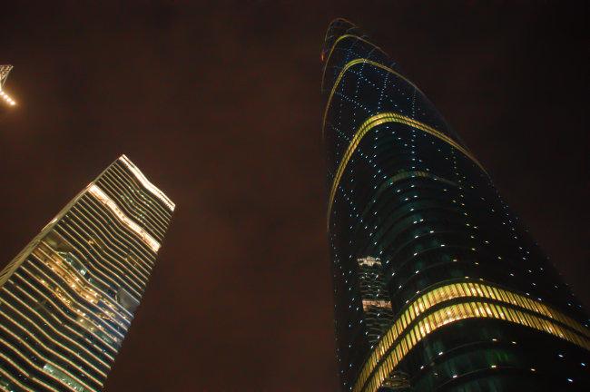 广州夜景模板下载 广州夜景图片下载 花城广场 西塔 夜景 风光 广州