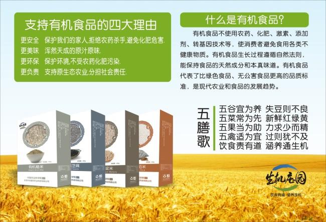 有机食品宣传海报模板下载(图片编号:10499535)
