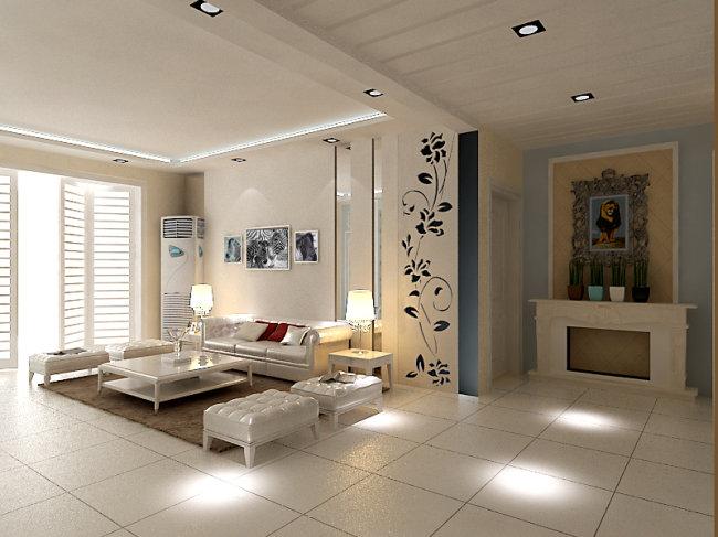 客厅模型模板下载 客厅模型图片下载