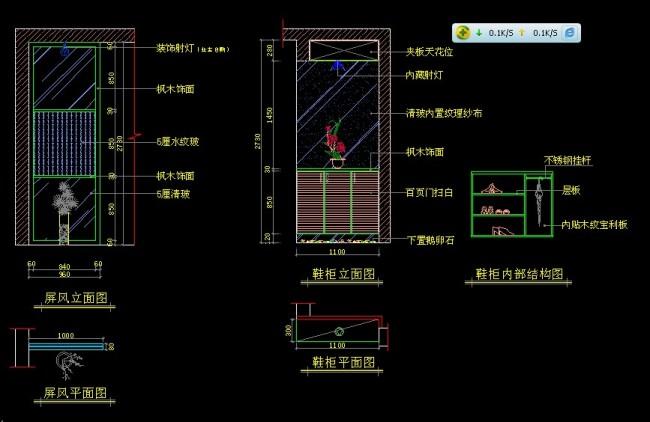 cad室内图模板下载 cad室内图图片下载