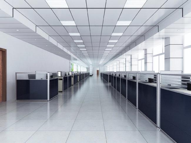 苏州 效果图/3D办公大厅效果图模版