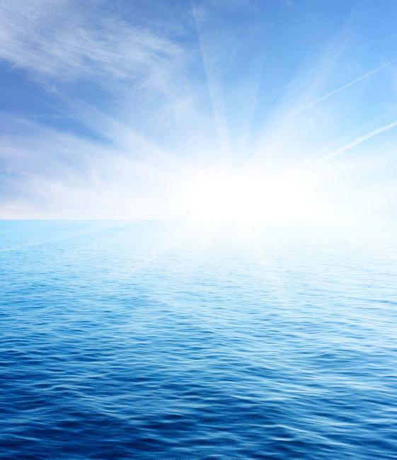 风景 自然风景 海上日出 波浪 云朵 光线 光芒 太阳 日出 大海 海面
