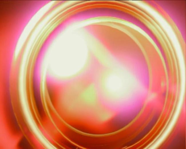 彩色圈圈转动效果动态视频素材