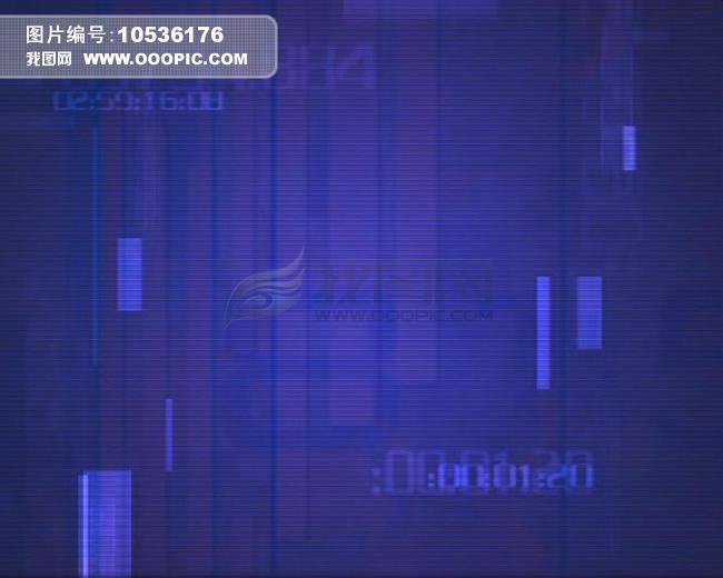 深蓝色数字科技背景动态视频素材