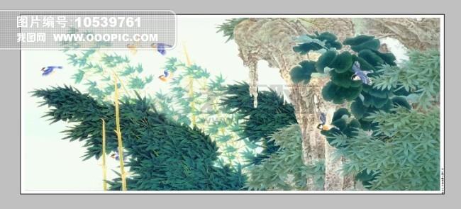 风景绘画模板下载 10539761 绘画