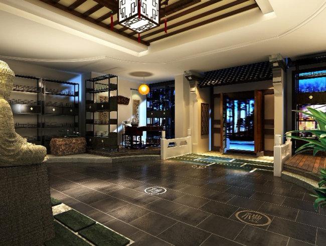 古色古香餐厅效果图 现代客厅效果图