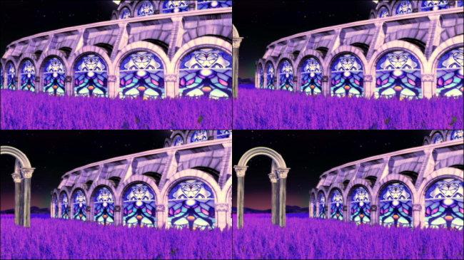 欧式古典紫色图片