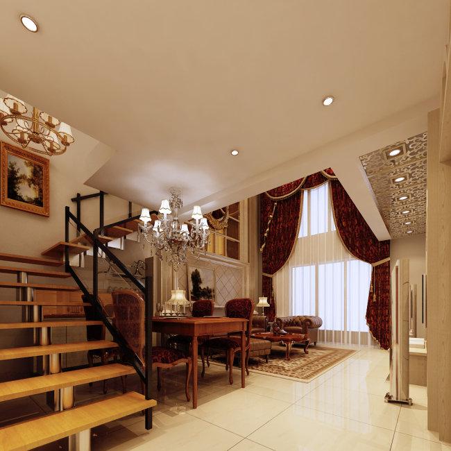室内家居客厅效果图图片下载