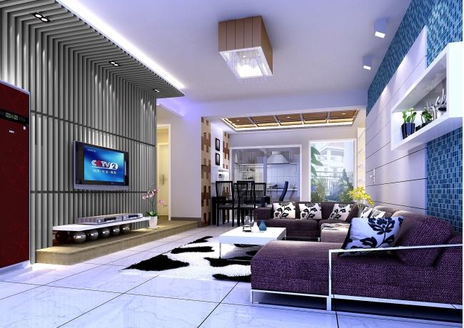 室内家居客厅效果图