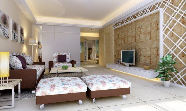 卧室设计 豪华卧室 卧室效果图室内设计效果图 电脑房 西式简约风格