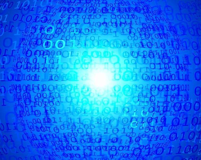 数字科技编码背景动态视频素材