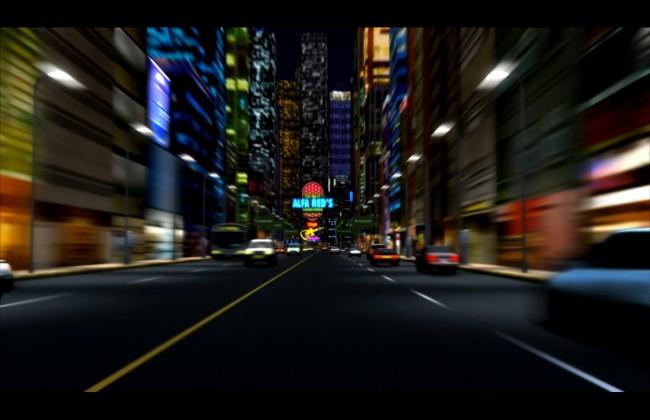 晚上街道的图片图片