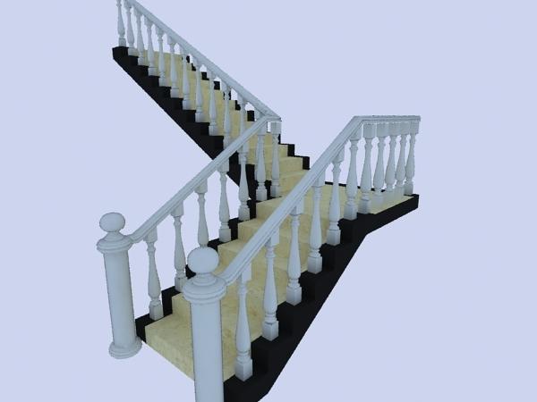 3d楼梯模型模板下载 3d楼梯模型图片下载