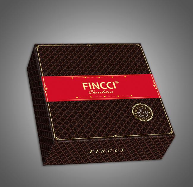 笑脸巧克力包装盒(展开图)
