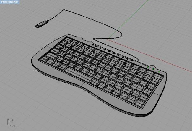 电脑usb外接键盘模板下载(图片编号:10600233)