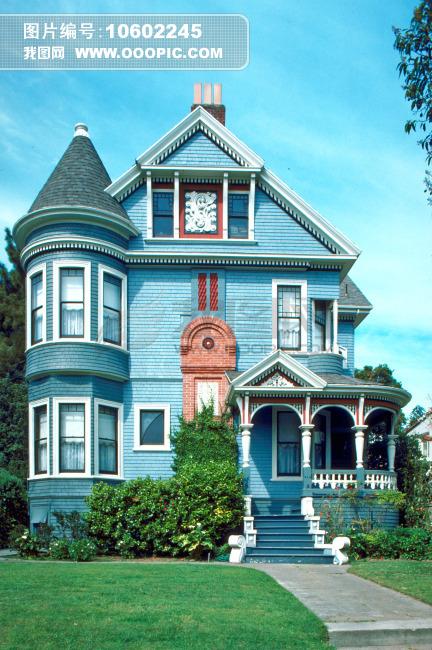 欧式建筑别墅外观设计图片素材 图片编号 10602245 私人建筑图片库 -