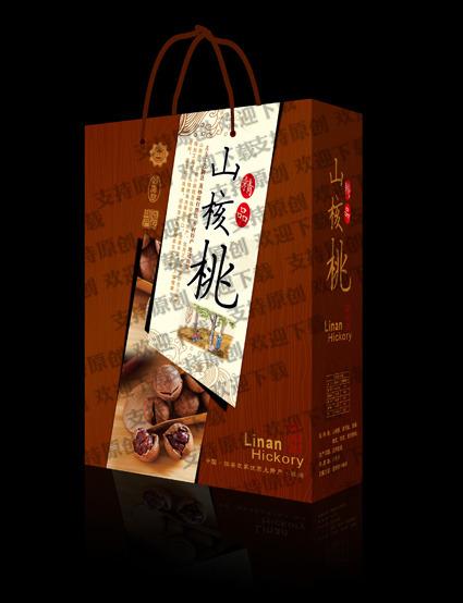 平面设计 其他 礼品|包装|手提袋设计模板 > 山核桃礼盒 罐装  下一张