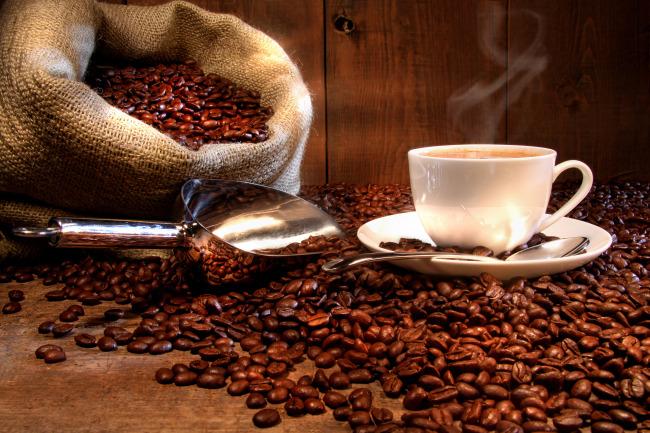 咖啡豆咖啡杯
