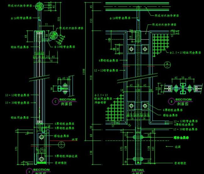 cad节点图怎么画_CAD节点图模板下载图片编号10624195_CA