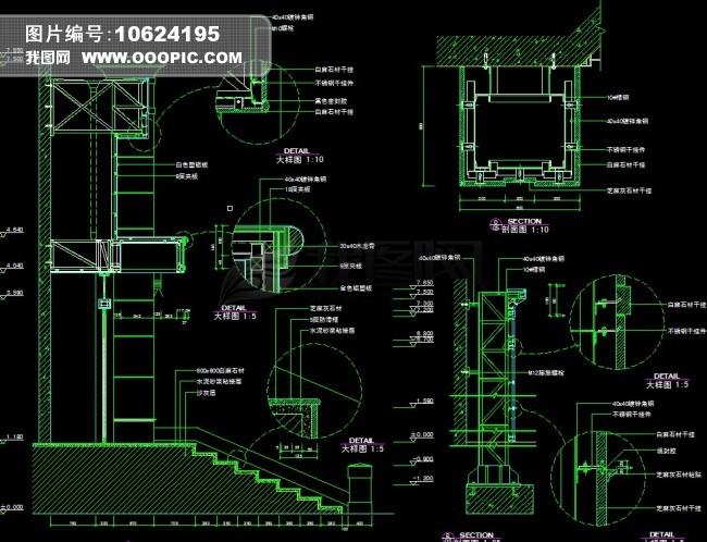 cad节点图怎么画_CAD节点图模板下载图片编号10622283_CA