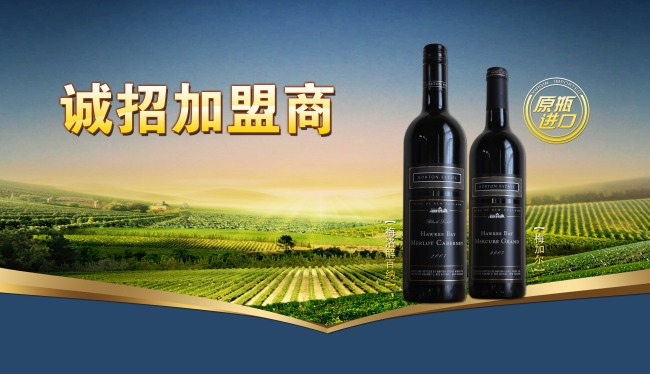 红酒广告模板下载 红酒广告图片下载 原瓶进口 创意红酒