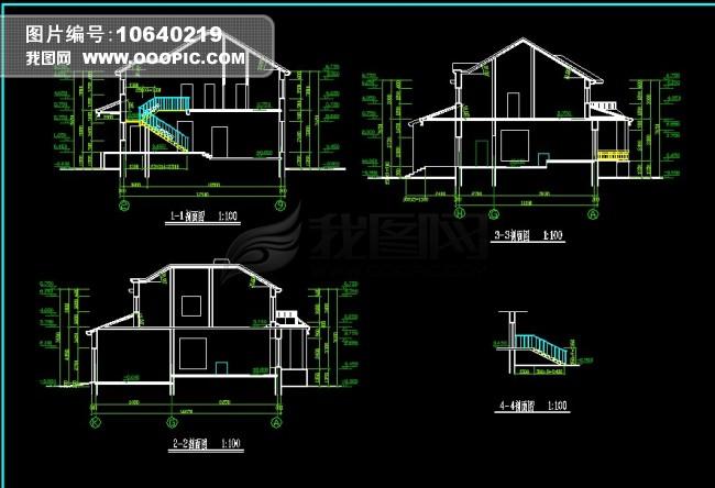 别墅设计图模板下载(图片编号:10640219)