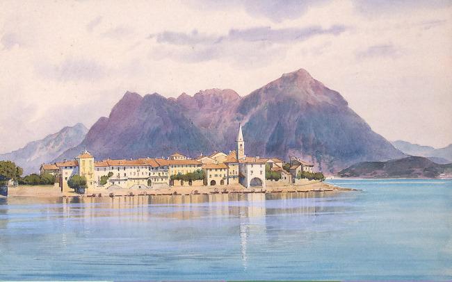 装饰画 艺术画 油画 手绘风景 景色 风景插画 插图 手绘景观 环境设定