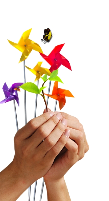 双手 风车图片下载 手 苗子 双手 捧着 风车 手势 合什 手指 素材