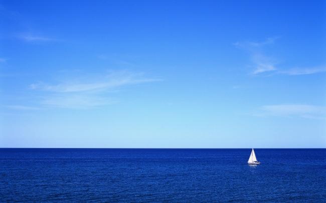 卡通大海帆船图图片大全下载