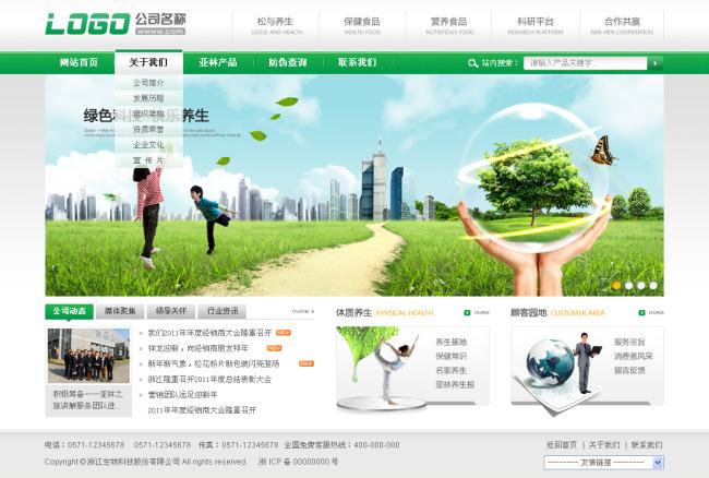集团/企业网站模板
