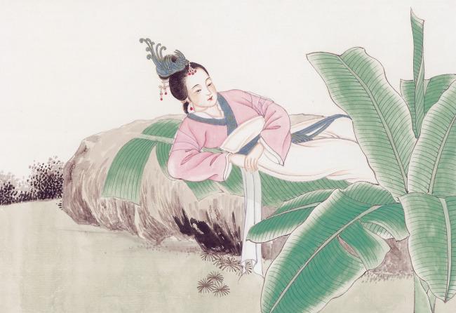 仕女宫女 工女画 女子图片 古代女子水墨画 日本艺妓 古代女子图片