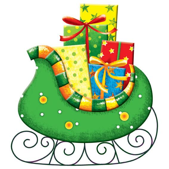 电脑手绘圣诞礼物模板下载(图片编号:10729691)_插画