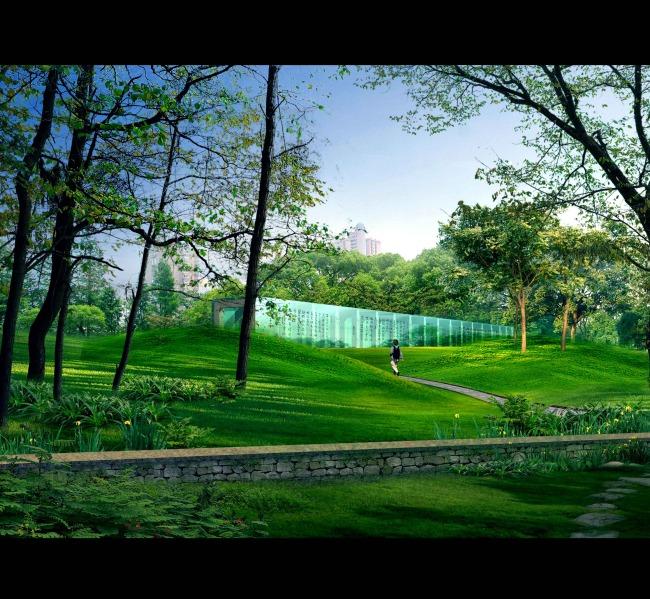 户外景观效果图模板下载 户外景观效果图图片下载 室外 景观 绿化