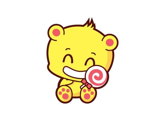 卡通形象小熊模板下载