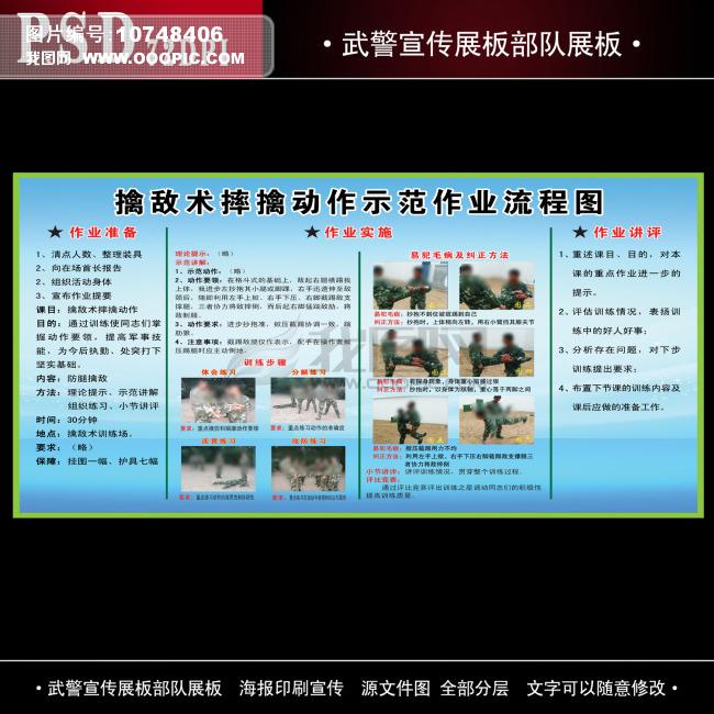 武警宣传展板部队展板模板下载 武警宣传展板部队展板图片下载