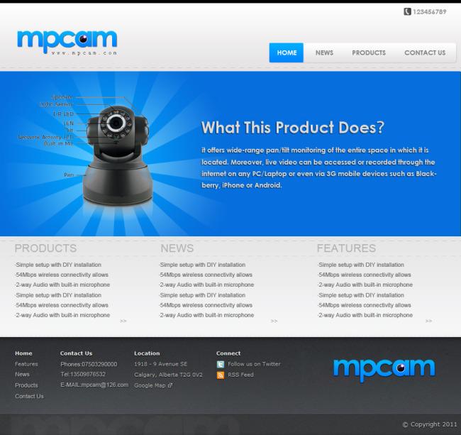 企业网站模板模板下载 企业网站模板图片下载 网站模板 模板 网站