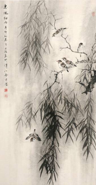 柳叶柳树 水墨画模板下载 10761121 其它 锟斤拷图片